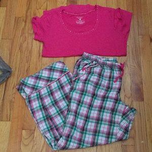 Victoria Secret Large T-shirt/ Pajama Pants Set